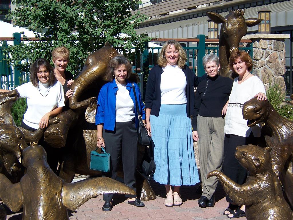 Martha, Sheryl, Nora, Judy, Jan, Anne