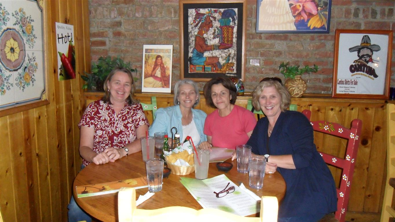 Judy, Diane, Nora, Sheryl