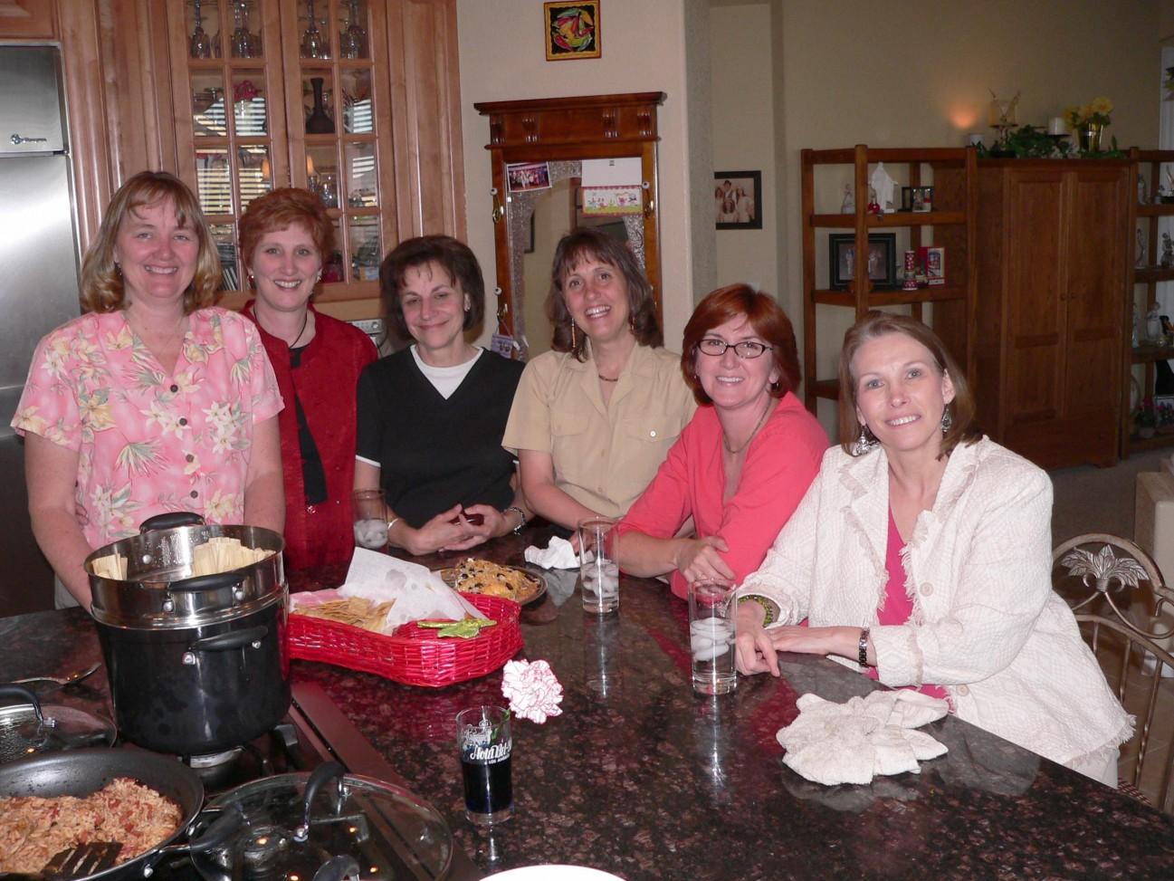 Bookies at Judy's House