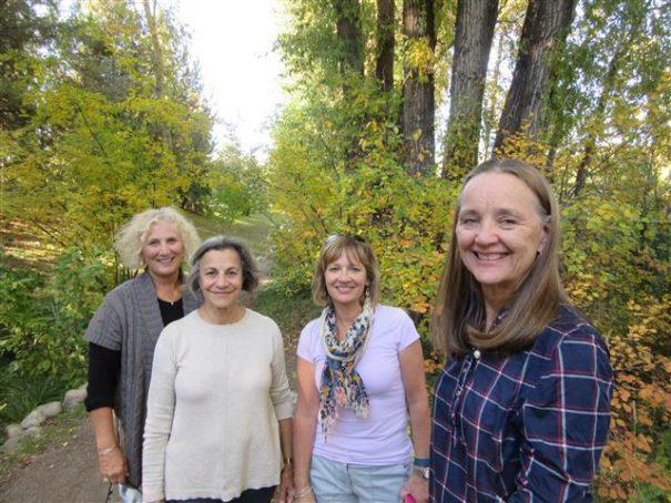 Sheryl, Nora, Suzanne, Judy